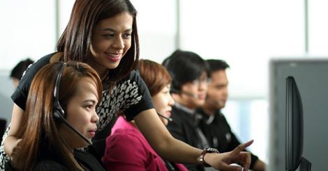 Acquire BPO - BPO Staff in Action