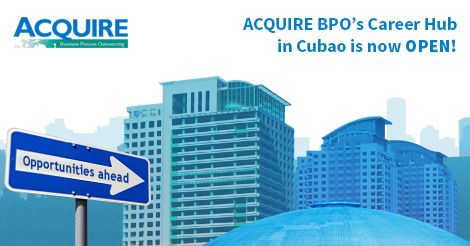 Acquire BPO Career Hub in Cubao