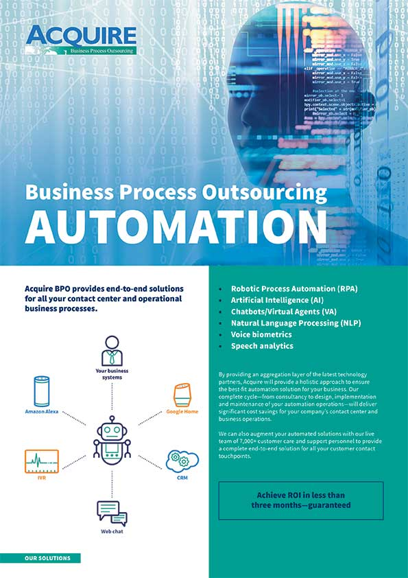 Business Process Outsourcing Automation Image