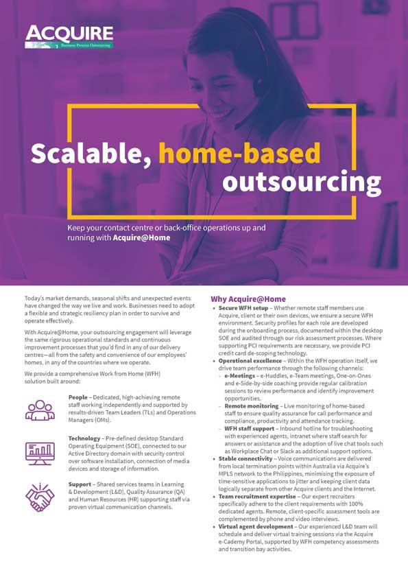 Acquire@Home