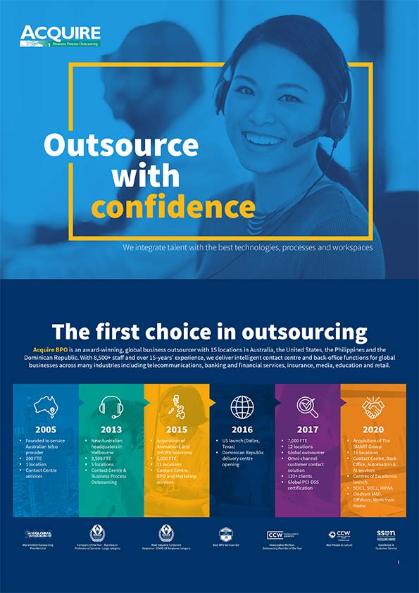 Outsource with confidence