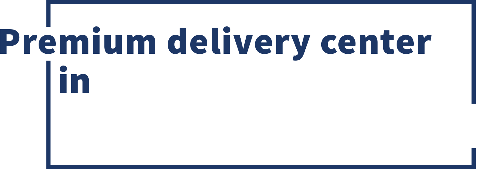 Premium delivery center in Melbourne, Manila & Santo Domingo